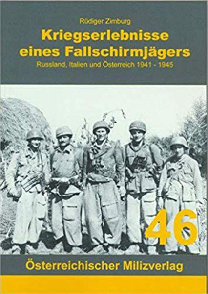 Kriegserlebnisse eines Fallschirmjägers