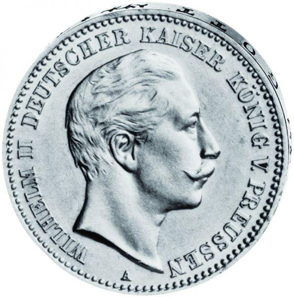 """3 Mark """"Wilhelm II."""""""
