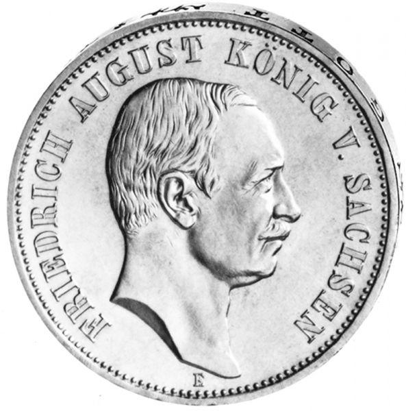 """3 Mark """"Friedrich August von Sachsen"""""""