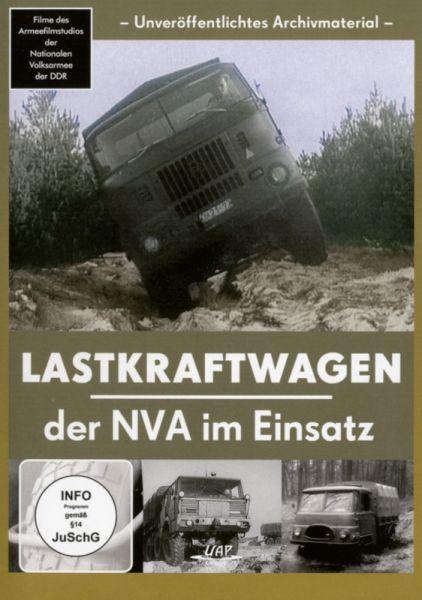 Lastkraftwagen der NVA im Einsatz