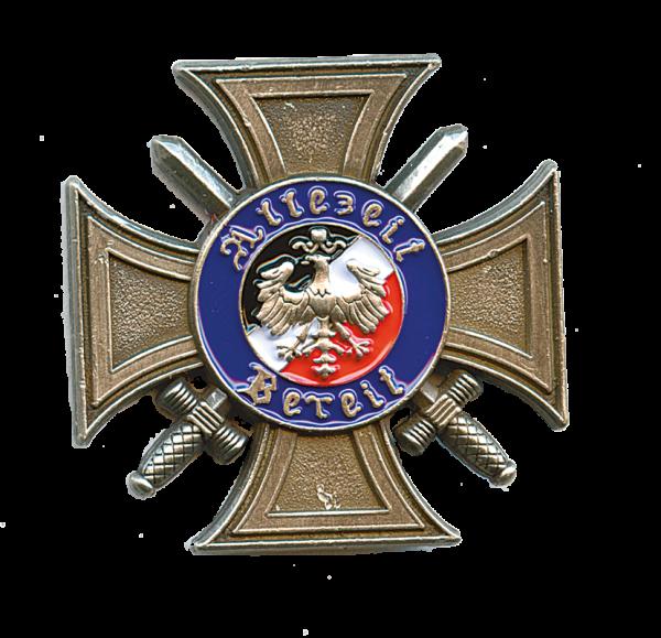 Kriegsfreiwilligen-Erinnerungskreuz mit Schwertern 1914-1918