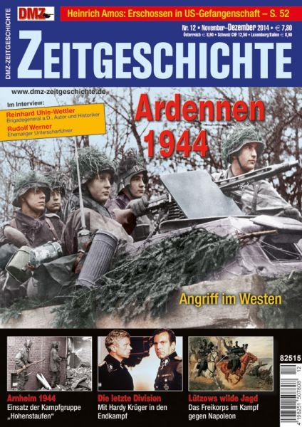 DMZ Zeitgeschichte November-Dezember 2014
