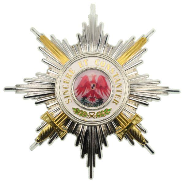 Roter Adler-Orden Bruststern 1. Klasse mit Schwertern 1854 – 1918