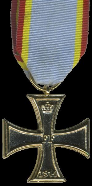 """""""Militärverdienstkreuz Mecklenburg-Schwerin von 1914 mit Band"""""""