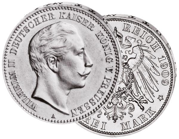 """5 Mark """"Wilhelm II."""""""