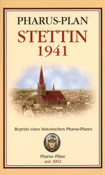 Stadtplan Stettin 1941