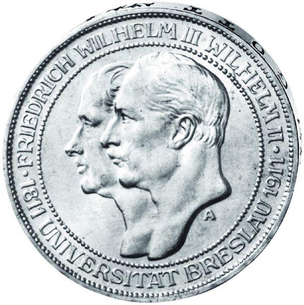 "3 Mark ""Universtität Breslau"""