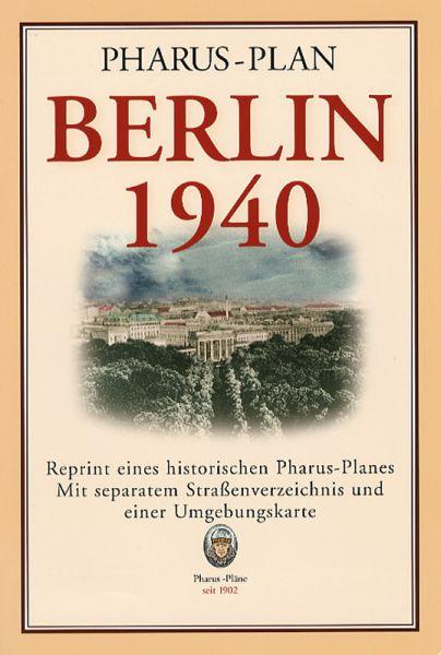 Groß-Stadtplan Berlin 1940