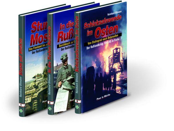 Der Rußlandkrieg 1941-1945 in Farbe (Band I-III)