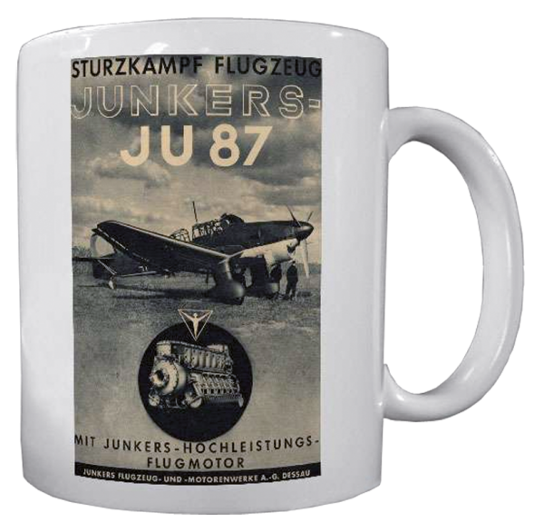 """Becher """"JU 87 Stuka"""""""