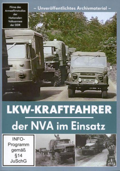 LKW-Kraftfahrer der NVA im Einsatz