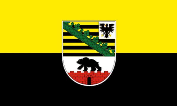 Tischfähnchen Sachsen-Anhalt