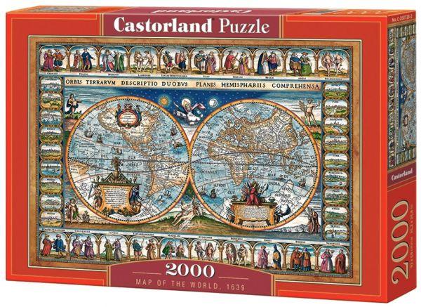 """""""Weltkarte von 1639"""""""