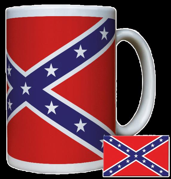 """Becher """"Südstaaten-Flagge"""""""