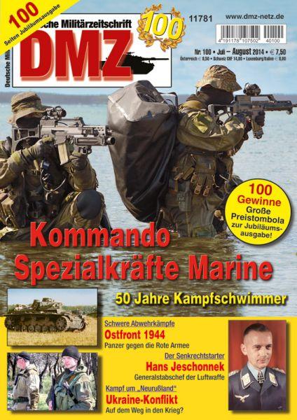 Zeitschrift DMZ 100 (Juli/August 2014)
