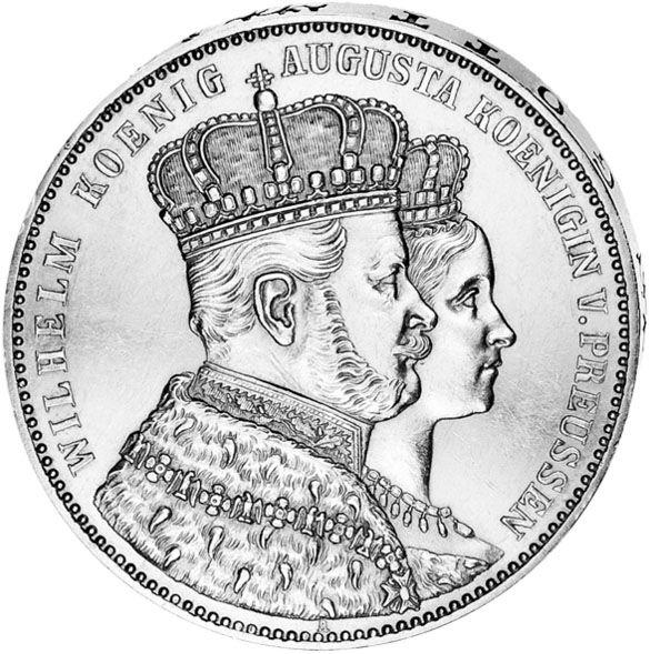 Krönungs-Thaler 1861
