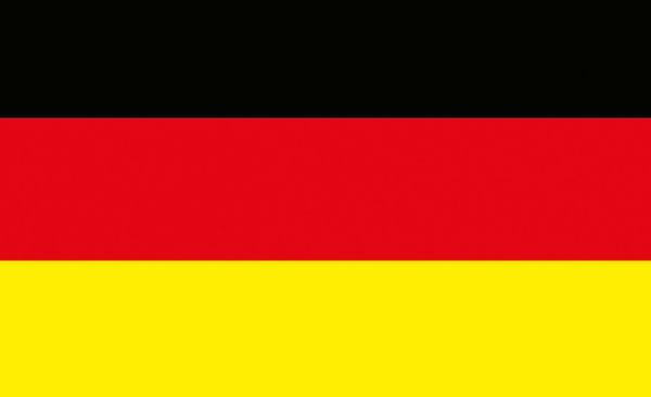 Deutschlandfahne schwarz-rot-gold