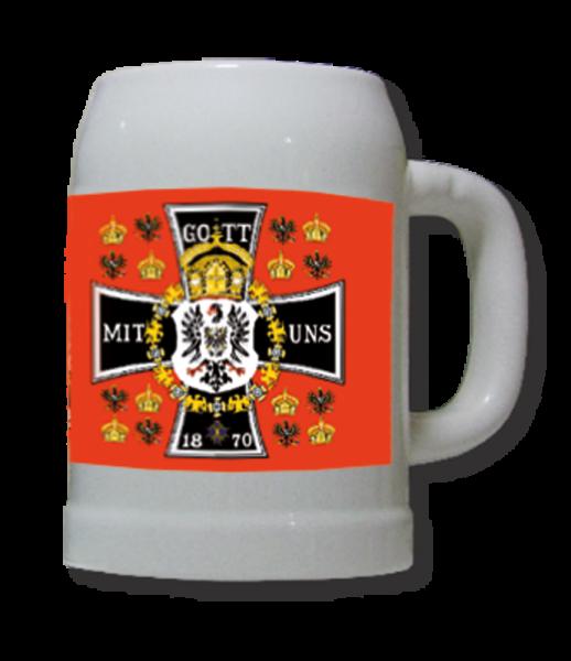 """Bierkrug """"Gott mit uns 1870"""""""