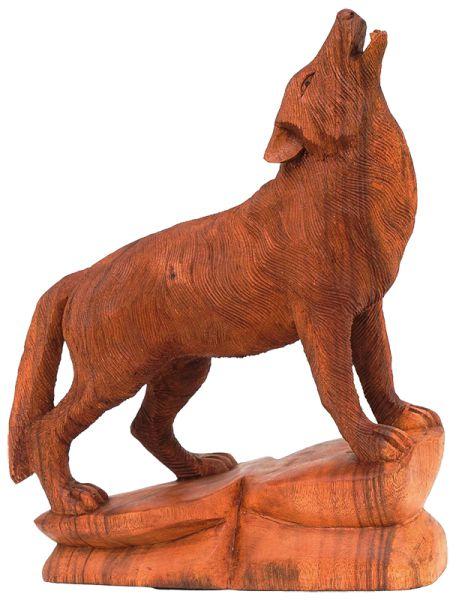 "Wolf-Statue ""Isegrim"""