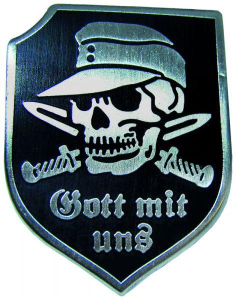 """Totenschädel - """"Gott mit uns"""""""
