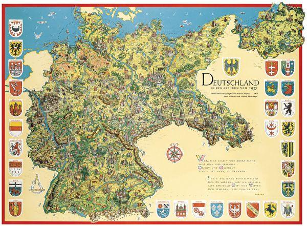 Deutschland in den Grenzen von 1937