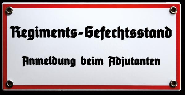 """""""Regiments-Gefechtsstand"""""""