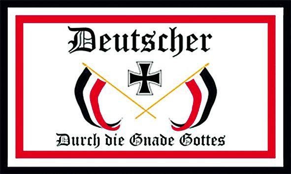 """""""Deutscher durch die Gnade Gottes"""""""