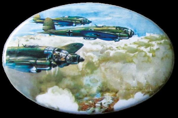 """Heinkel He 111 über London"""