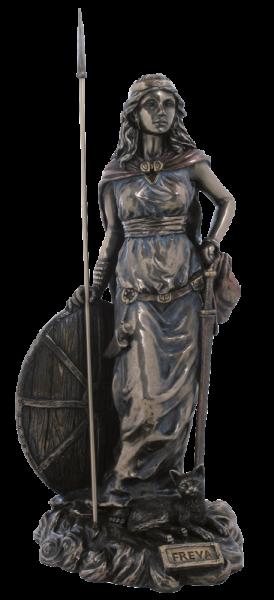 """""""Göttin Freya"""" mit Schild und Schwert"""