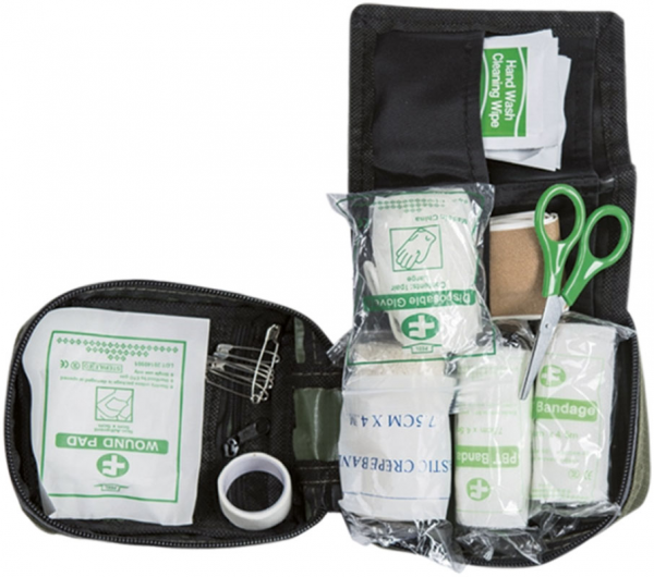 Erste-Hilfe-Tasche, Oliv