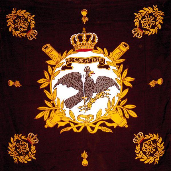 Fahne der Königlich Preußischen Linien-Fußartillerie-Regimenter