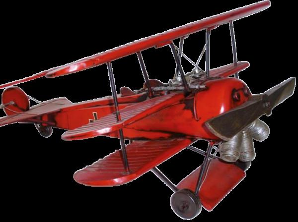 """Dreidecker-Jagdflugzeug ""Roter Baron"""