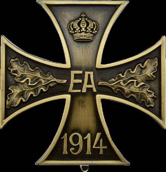 Braunschweigisches Kriegsverdienstkreuz 1. Klasse an Nadel