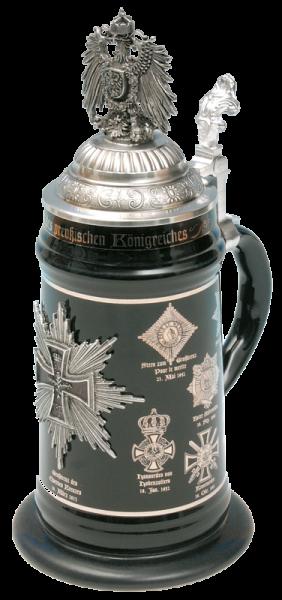 """Porzellankrug """"Königreich Preußen"""""""