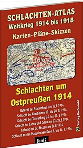 Schlachten-Atlas Weltkrieg 1914 bis 1918
