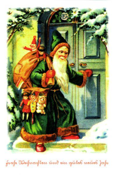 Frohe Weihnachten I, 8 Karten