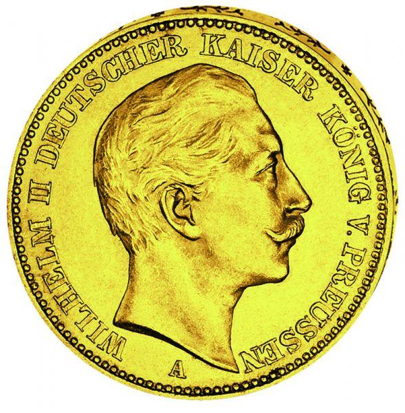"""10 Mark """"Wilhelm II."""""""