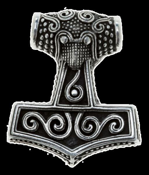 Thorshammer-Anhänger, Silber