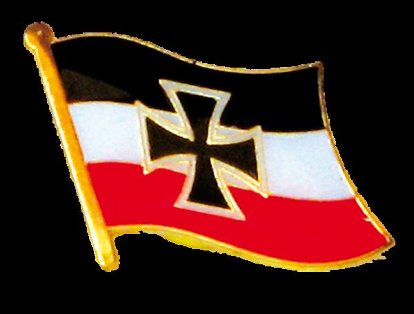Fähnchen s/w/r mit Eisernem Kreuz