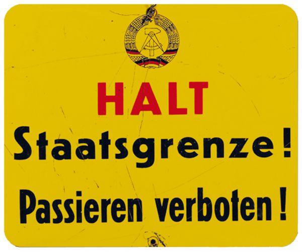 Halt - Staatsgrenze