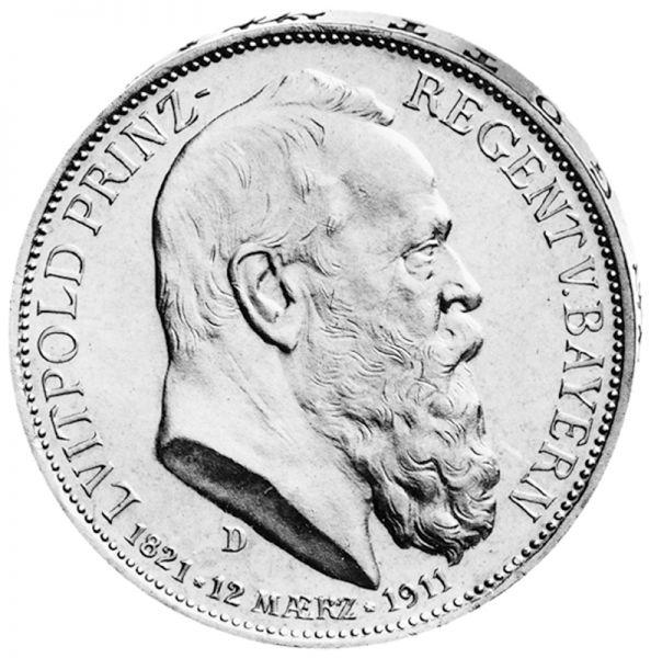 """3 Mark """"Luitpold Prinz-Regent von Bayern"""""""