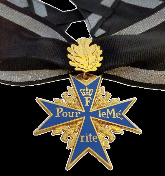 """""""Pour le Mérite"""" mit Eichenlaub"""