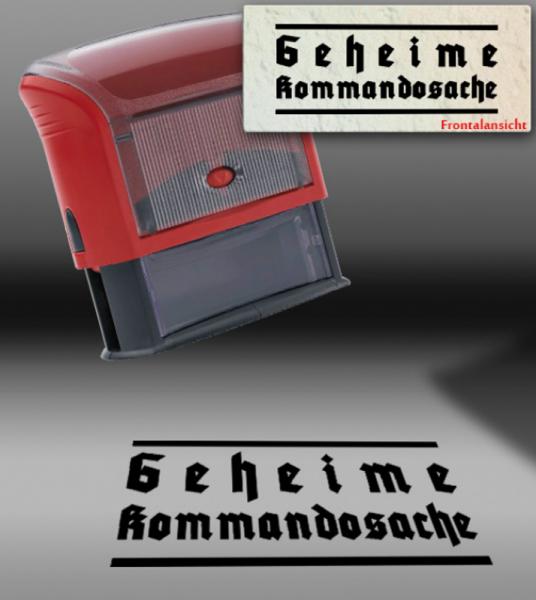 "Autmatikstempel ""Geheime Kommandosache"""