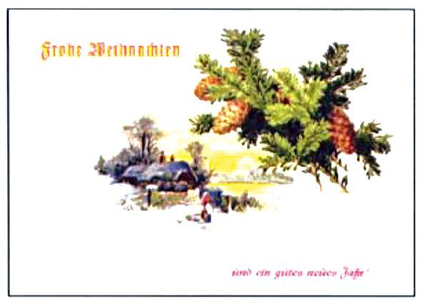 Frohe Weihnachten V, 8 Karten