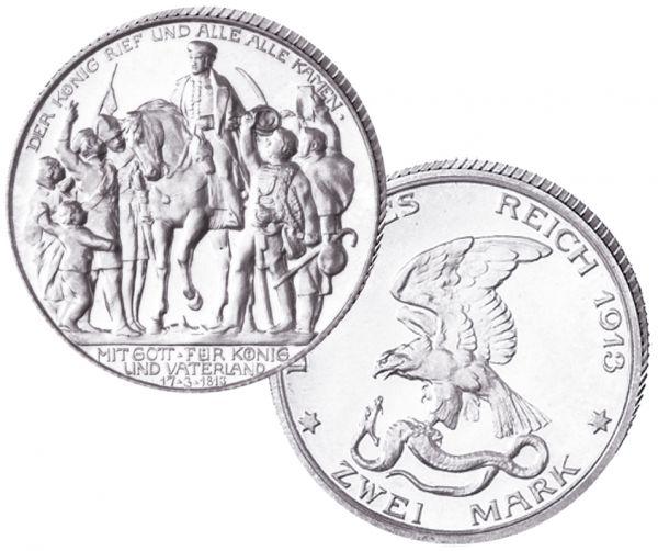 """3 Mark """"100 Jahre Preußens Befreiung 1813"""""""
