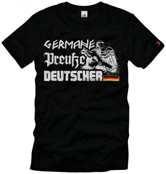 """""""Germane, Preuße, Deutscher"""""""