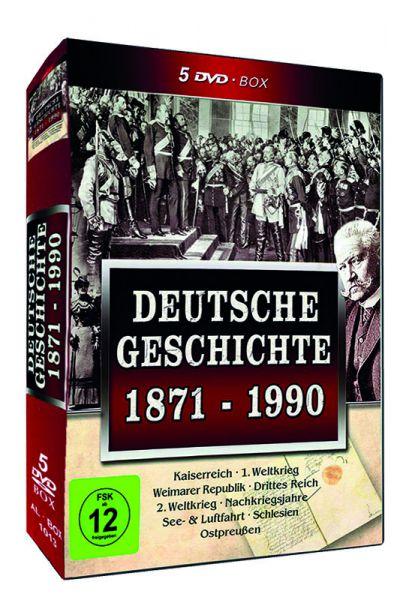Deutsche Geschichte 1871-1900