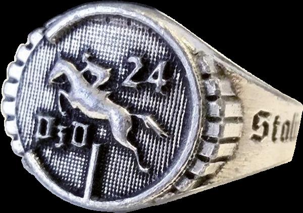 """""""24. Panzer-Division"""", Einheitsgröße 21,5 mm"""