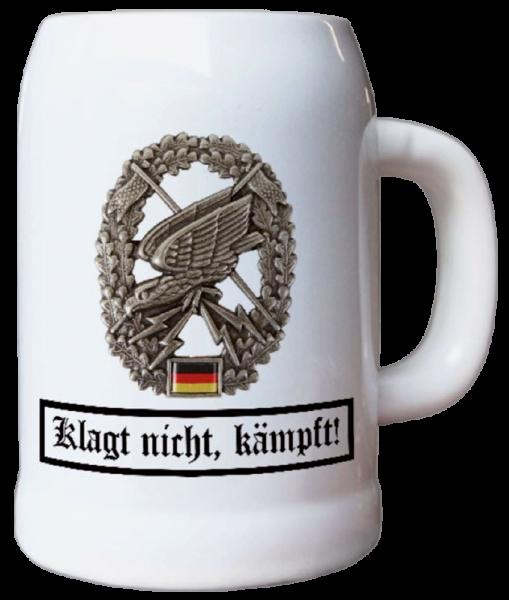 "Bierkrug ""Klagt nicht, kämpft"""