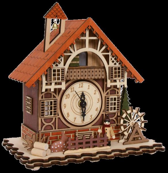 Fachwerkhaus mit Uhr